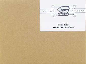 2016/17 Leaf Genesis Hockey Hobby 10-Box Case