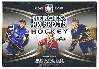 2015/16 Leaf Heroes & Prospects Hockey Hobby Box