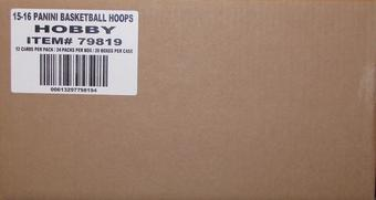 2015/16 Panini Hoops Basketball Hobby 20-Box Case