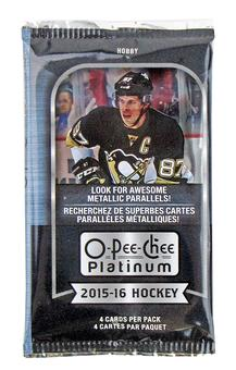 2015/16 Upper Deck O-Pee-Chee Platinum Hockey Hobby Pack