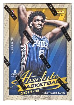 2015/16 Panini Absolute Basketball Hobby Pack