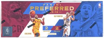 2015/16 Panini Preferred Basketball Hobby Box