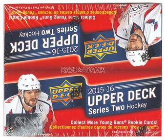 2015/16 Upper Deck Series 2 Hockey 24-Pack Box
