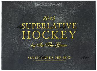 2015/16 Leaf Superlative Hockey Hobby Box