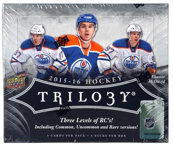 2015/16 Upper Deck Trilogy Hockey Hobby 9-Box Case- DACW Live 30 Spot Random Team Break #4