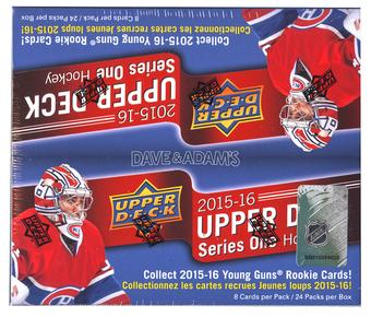 2015/16 Upper Deck Series 1 Hockey 24-Pack Box