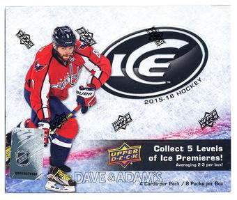 2015/16 Upper Deck Ice Hockey Hobby Box (PLUS 2016 World Cup Packs!)
