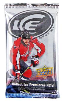 2015/16 Upper Deck Ice Hockey Hobby Pack