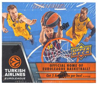 2015/16 Upper Deck Turkish Airlines Euroleague Basketball Hobby Box