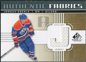 2011/12 Upper Deck SP Game Used Authentic Fabrics Gold #AFJE4 Jordan Eberle J C