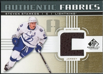 2011/12 Upper Deck SP Game Used Authentic Fabrics Gold #AFSS4 Steven Stamkos C C