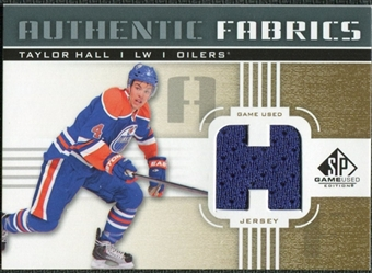 2011/12 Upper Deck SP Game Used Authentic Fabrics Gold #AFTH2 Taylor Hall H C