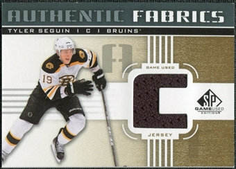2011/12 Upper Deck SP Game Used Authentic Fabrics Gold #AFTS1 Tyler Seguin C C