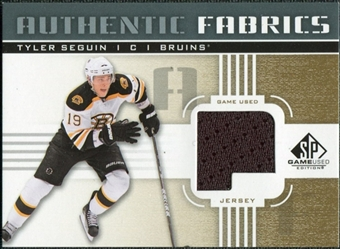 2011/12 Upper Deck SP Game Used Authentic Fabrics Gold #AFTS2 Tyler Seguin P D