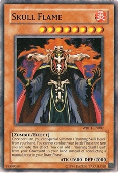 Yu-Gi-Oh Promo Single Skull Flame Ultra Rare WB01