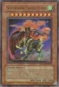 Yu-Gi-Oh Promo Single Supersonic Skull Flame Ultra Rare WB01