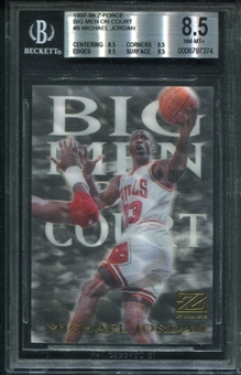 1997/98 Z-Force Big Men on Court #9 Michael Jordan BGS 8.5 NM-MT+ *7374