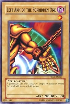 Yu-Gi-Oh Dark Legends Single Left Arm of the Forbidden One Common DLG1