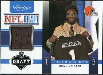 2012 Panini Prestige NFL Draft Materials #3 Trent Richardson /99