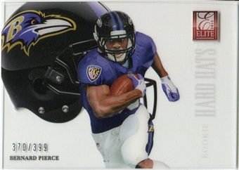 2012 Panini Elite Rookie Hard Hats #13 Bernard Pierce /399