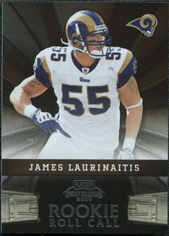 2009 Panini Playoff Contenders Rookie Roll Call #25 James Laurinaitis