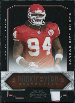 2009 Panini Playoff Contenders Contenders #20 Tyson Jackson