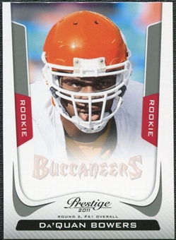2011 Panini Prestige #227 Da'Quan Bowers