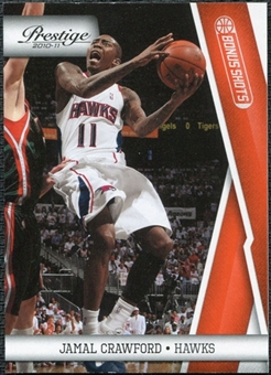 2010/11 Panini Prestige Bonus Shots Orange #2 Jamal Crawford /499