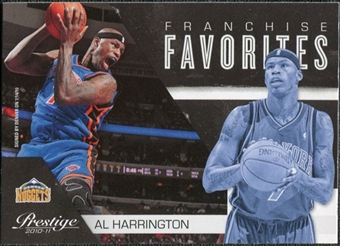 2010/11 Panini Prestige Franchise Favorites #3 Al Harrington
