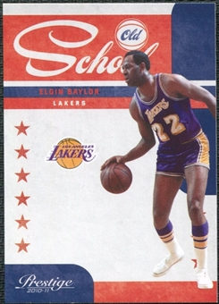 2010/11 Panini Prestige Old School #4 Elgin Baylor