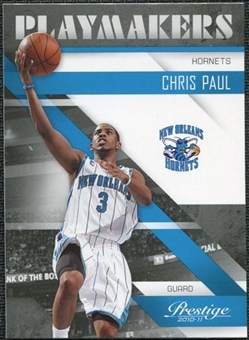 2010/11 Panini Prestige Playmakers #2 Chris Paul