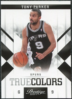 2010/11 Panini Prestige True Colors #5 Tony Parker