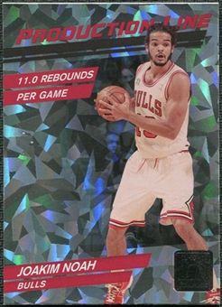 2010/11 Panini Donruss Production Line #27 Joakim Noah /999