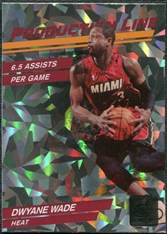 2010/11 Panini Donruss Production Line #51 Dwyane Wade /999