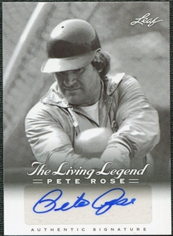 2012 Leaf Pete Rose The Living Legend Autographs #AU42 Pete Rose Autograph