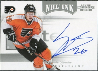 2011/12 Panini Contenders NHL Ink #42 Erik Gustafsson Autograph