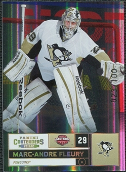 2011/12 Panini Contenders Gold #29 Marc-Andre Fleury /100