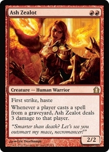 Magic the Gathering Return to Ravnica Single Ash Zealot Foil
