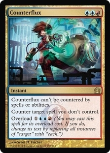 Magic the Gathering Return to Ravnica Single Counterflux - NEAR MINT (NM)