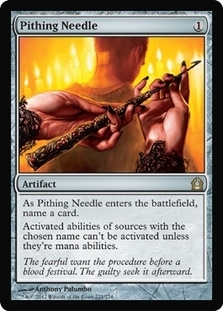 Magic the Gathering Return to Ravnica Single Pithing Needle - NEAR MINT (NM)