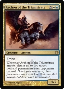 Magic the Gathering Return to Ravnica Single Archon of the Triumvirate UNPLAYED (NM/MT) - 4x Playset