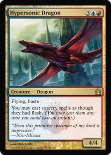 MTG Return to Ravnica Single Hypersonic Dragon - NEAR MINT (NM)