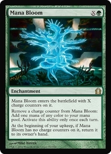 Magic the Gathering Return to Ravnica Single Mana Bloom Foil