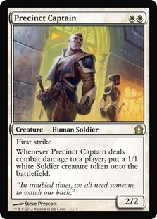 Magic the Gathering Return to Ravnica Single Precinct Captain - 4x Playset - NEAR MINT (NM)