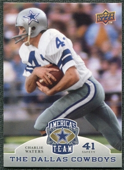 2009 Upper Deck America's Team #14 Charlie Waters