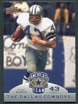 2009 Upper Deck America's Team #16 Cliff Harris