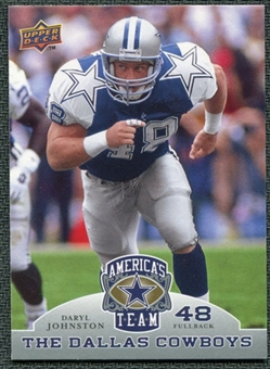 2009 Upper Deck America's Team #23 Daryl Johnston