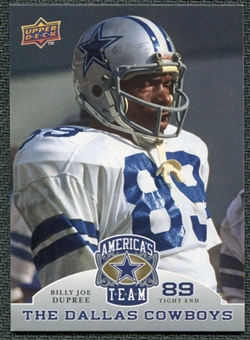 2009 Upper Deck America's Team #24 Billy Joe Dupree