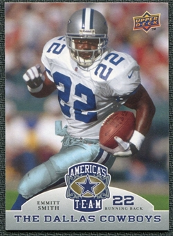 2009 Upper Deck America's Team #38 Emmitt Smith