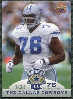 2009 Upper Deck America's Team #42 Flozell Adams